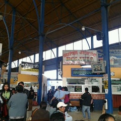 Photo taken at Terminal de Buses by Fausto V. on 5/19/2012