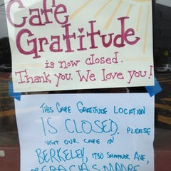 Photo taken at Cafe Gratitude by Gaelen G. on 5/29/2012