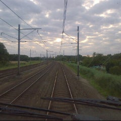 Photo taken at Intercity naar Leeuwarden by Jack B. on 6/29/2012