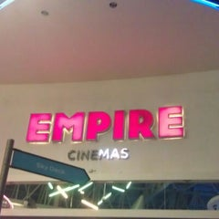 Photo taken at Empire Cinema by Jen S. on 5/1/2012