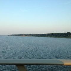 Photo taken at Mile Long Bridge by Marcella on 8/4/2012