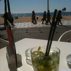 Photo taken at Moon Beach by Jordi V. on 3/13/2012