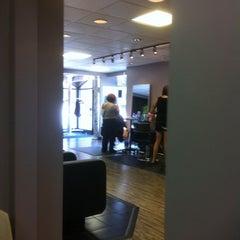 Photo taken at Blink27 Salon & Spa by Tina B. on 7/7/2012