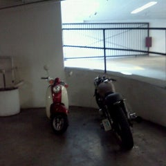 Photo taken at lonely bella the scooter at new job by Erin T. on 5/7/2012