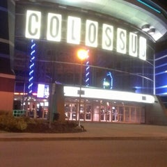 Photo taken at Cinéma Colossus Laval by Isabelle G. on 8/23/2012