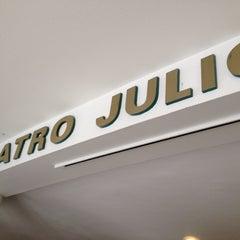 Photo taken at Teatro Julio Prieto by Diego R. on 7/15/2012