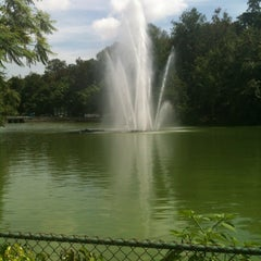Photo taken at Parque de Los Lagos by Genaro B. on 6/28/2012