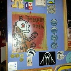 Photo taken at The Strange Brew by Chris O. on 7/12/2012