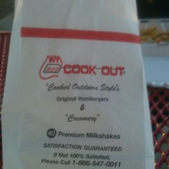 Photo taken at Cook-Out by Jonathan S. on 11/25/2011