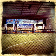 Photo taken at Grand Futsal Kuningan by Atiya A. on 6/4/2011