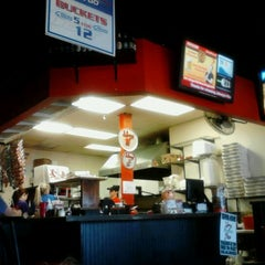 Photo taken at Johnny's New York Style Pizza by Angela S. on 4/9/2012