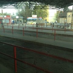 Photo taken at Autobusová stanica Nitra by Lenka P. on 4/2/2012
