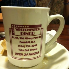 Photo taken at Westchester Diner by Ashley C. on 9/13/2011