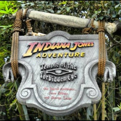 Photo taken at Indiana Jones Adventure by Sean M. on 9/6/2012