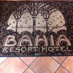 Photo taken at Bahia Resort Hotel - San Diego by Travis R. on 4/7/2012