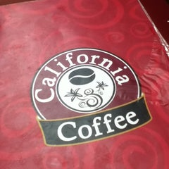 Photo taken at California Coffee by Jey A. on 1/16/2012