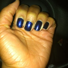 Photo taken at Ivy Nails by Marielle P. on 1/25/2012