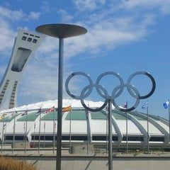 Photo taken at Stade Olympique by Allan K. on 7/29/2012