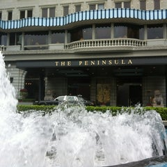 Photo taken at The Peninsula Hong Kong 香港半島酒店 by Tim on 2/27/2012