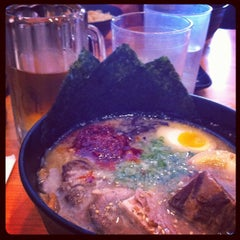 Photo taken at Ramen Yamadaya by Bennett K. on 11/16/2011