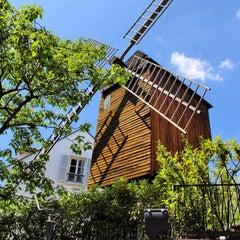 Photo taken at Le Moulin de la Galette by Jerome K. on 6/2/2012
