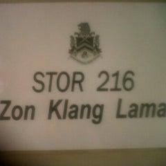 Photo taken at Stor 216 Kuchai Lama by Nazim A. on 1/27/2012