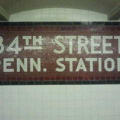 Photo taken at MTA Subway - 34th St/Penn Station (A/C/E) by The Official Khalis on 10/21/2011