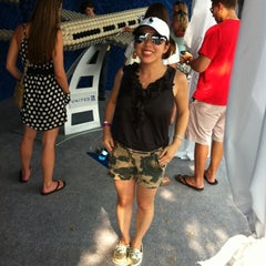 Photo taken at United Tennis Ball Plane by Jeanette Y. on 9/4/2011