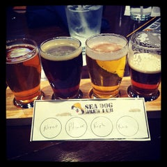Photo taken at Sea Dog Brew Pub by Don M. on 4/17/2012
