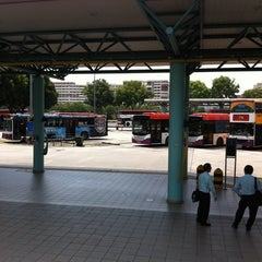 Photo taken at Hougang Central Bus Interchange by Old T. on 8/6/2011