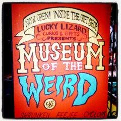 Photo taken at Museum Of The Weird by Derek G. on 3/15/2011