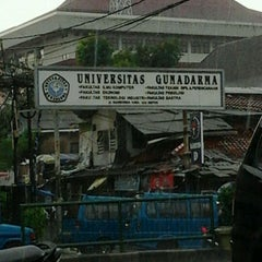Photo taken at Universitas Gunadarma by Moses M. on 11/3/2011
