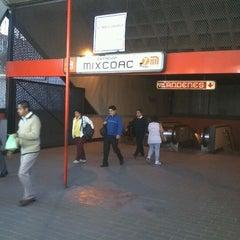 Photo taken at Metro Mixcoac (Líneas 7 y 12) by Isaac M. on 2/29/2012