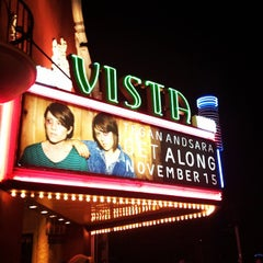 Photo taken at Vista Theater by Beth B. on 11/16/2011