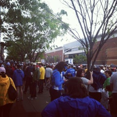 Photo taken at Monument Ave 10k 2012 by Kerri G. on 5/28/2012