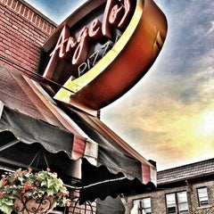 Photo taken at Angelo's Pizza by Laura W. on 6/11/2012