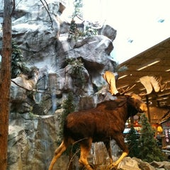 Photo taken at Bass Pro Shops by Justin M. on 4/22/2011