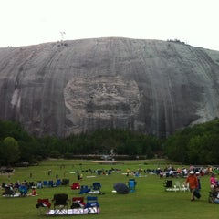 Photo taken at Stone Mountain Park by Sharon J. on 7/15/2011
