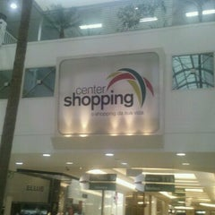 Photo taken at Center Shopping by Adriana L. on 10/23/2011