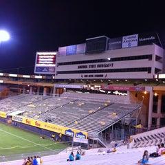 Photo taken at Sun Devil Stadium by David P. on 10/23/2011