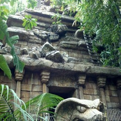 Photo taken at Indiana Jones Adventure by Boy R. on 5/18/2012