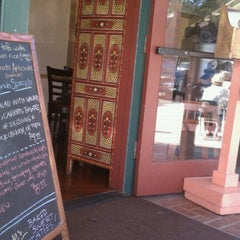 Photo taken at Lotus Cafe & Juice Bar by Debbie W. on 10/30/2011