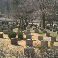 Photo taken at Sleepy Hollow Cemetery by Jerome G. on 3/10/2012