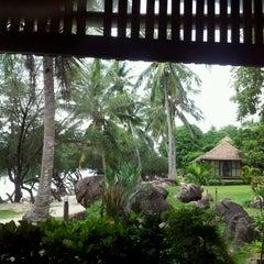 Photo taken at Sabai beach resort by Martin A. on 12/6/2011