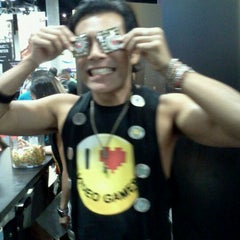Photo taken at Official Spike Booth at Comic-Con by Chris M. on 7/13/2012