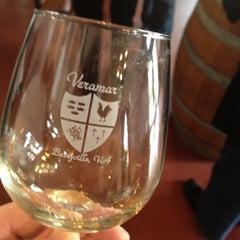 Photo taken at Veramar Vineyard by Jon W. on 3/18/2012