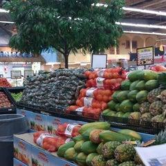 Photo taken at El Rancho Supermercado by Ivan B. on 9/4/2011