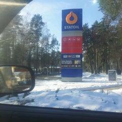 Photo taken at Statoil DUS | Jūrmala by Martins B. on 2/16/2012