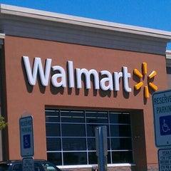 Photo taken at Walmart by Christine on 4/29/2012