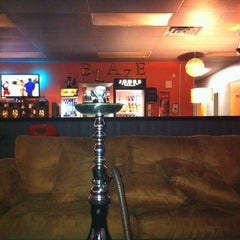 Photo taken at Blaze Hookah Lounge by Drew F. on 8/30/2011